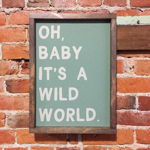 4Love - Oh, Baby, It's A Wild World