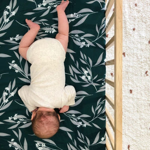Eucalyptus Fitted Cot Sheet
