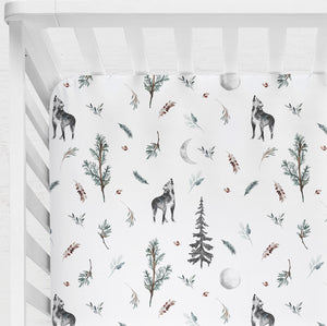 Wild Ones Fitted Cot Sheet