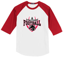 Load image into Gallery viewer, Youth Colorblock Raglan Jersey