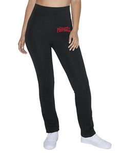 Ladies Cotton/ Spandex Yoga Pants