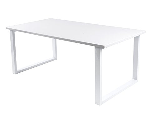 Leitmotiv Fushion Table Basse, MDF, Blanc, Taille Unique