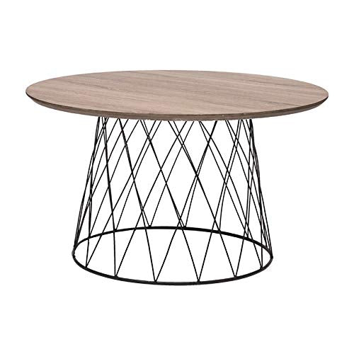 L'Oca Nera Table rond petit naturel