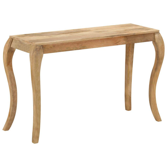 Festnight Table Console en Bois de Massif Table d'entrée Console pour Salon 118 x 38 x 76 cm