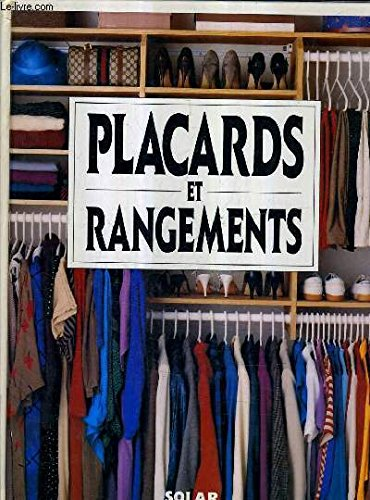 PLACARDS & RANGEMENTS -ANC EDI