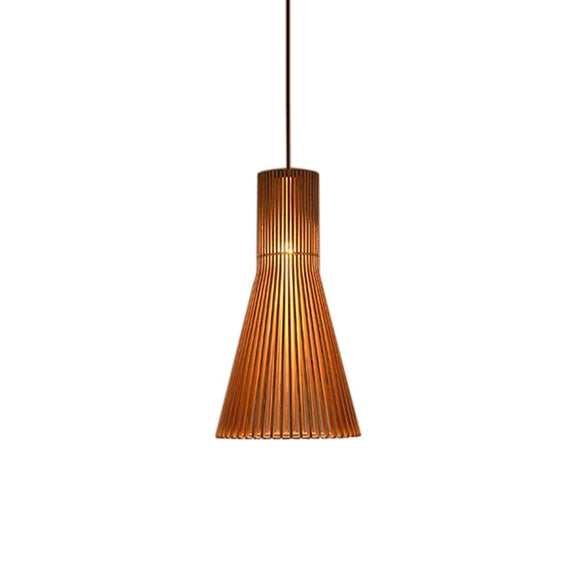 Suspension moderne en bois Restaurant de haute qualité fait main Abat-jour suspension moderne Style rustique lampe suspension suspension suspension 1 ampoule à vis E27 Douille max. 40 W
