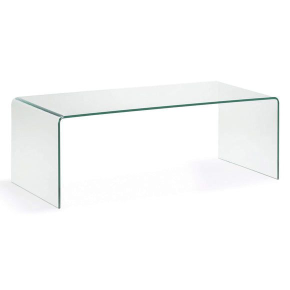 Kave Home - Table Basse et rectangulaire Burano en Verre