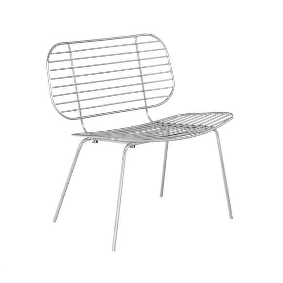 SKLUM Chaise Styl Gris Chromé - (Plus de Couleurs)