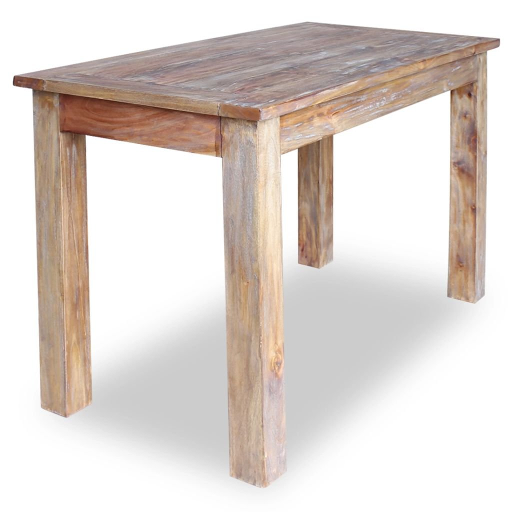 Table A Manger En Bois De Recuperation Massif Retro Look Chic