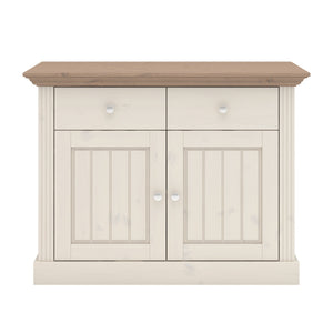 Steens Monaco Commode, Bois, Weiss/Stone, 47 x 104 x 26 cm