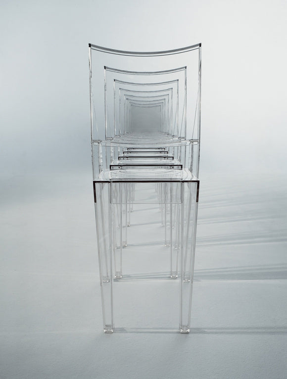 Kartell 4850/B4  LA MARIE Chaise lot de 2, transparent