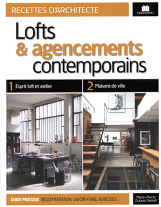 Lofts et agencements contemporains