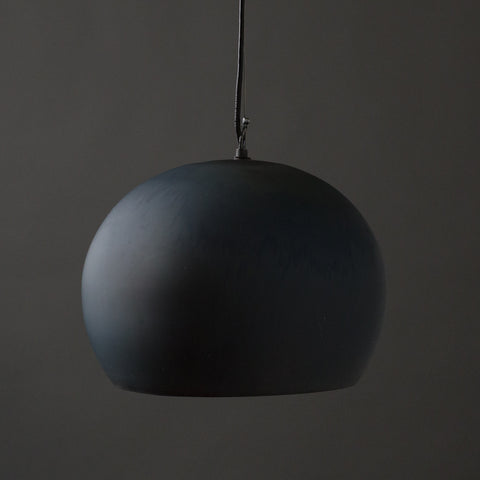Aura Pendant Large Charcoal