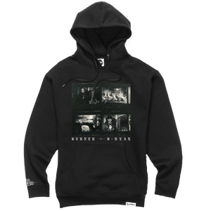 Los Meros Album Hoodie - Shadow Black + Download