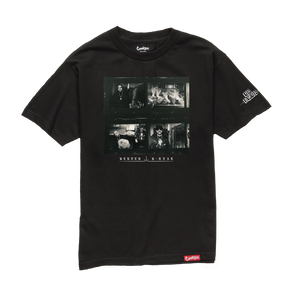 Los Meros Album T-Shirt - Shadow Black + Download