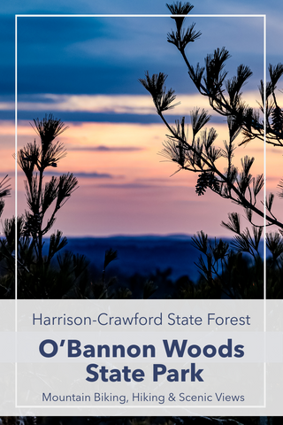 Guide to hiking trails in O'bannon Woods State Park