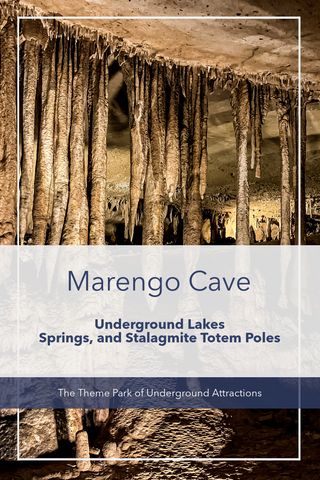 Guide to Marengo Caves Dripstone trail Tour