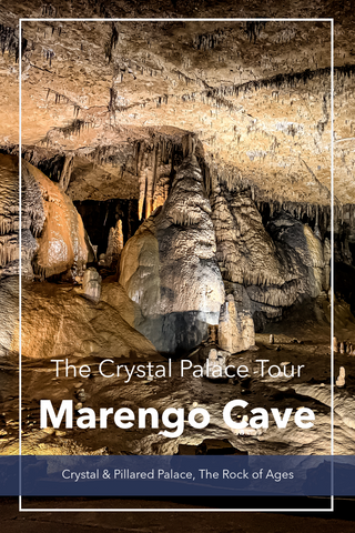 Guide to the Crystal Palace Tour in Marengo Cave