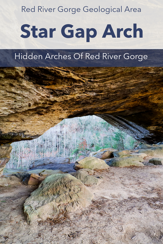 Guide To Hiking Star Gap Arch In Red River Gorge Kentucky