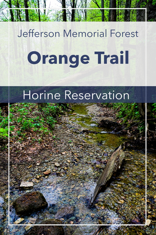 Orange Trail Horine Reservation Jefferson Memorial Forest