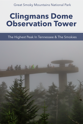 Clingmans Dome, The Highest Peak In The Great Smoky Mountains