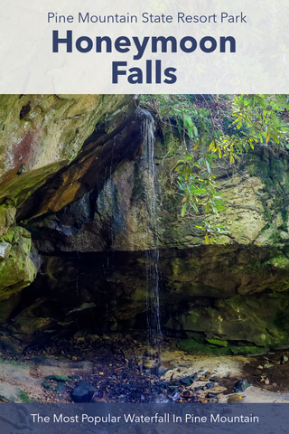 Honeymoon Falls, The Most Popular Waterfall In Pine Mountain State Park