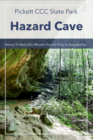 Guide to hiking Hazard Cave Trail in Pickett CCC State Park