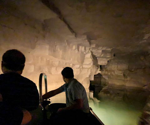 mystry river tour within bluespring caverns indiana