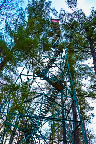 o'bannon woods state park fire tower