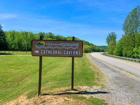 entrance to cathedral caverns state park alabama