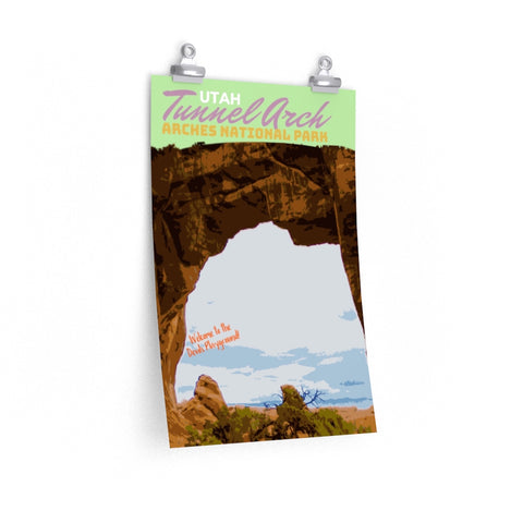 Arches National Park Tunnel Arch Poster