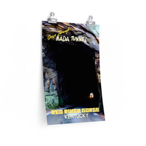 Red River Gorge Nada Tunnel Poster
