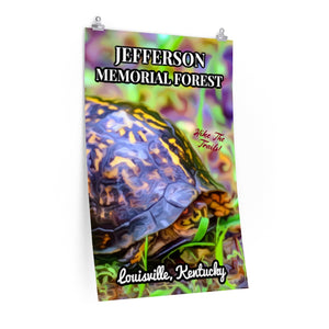 Jefferson Memorial Forest Box Turtle Poster