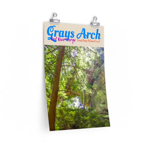 Red River Gorge Grays Arch Poster