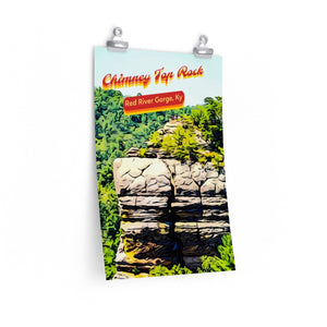 Red River Gorge Chimney Top Rock Kentucky Poster