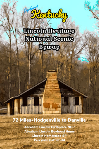 Lincoln Heritage National Scenic Byway Kentucky Parks Poster