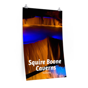 Squire Boone Caverns Indiana Poster
