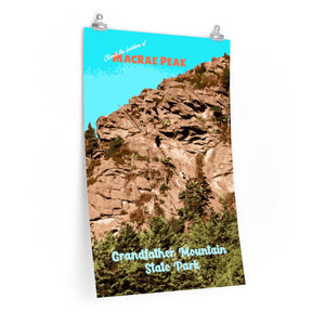 Grandfather Mountain State Park MacRae Peak North Carolina Poster
