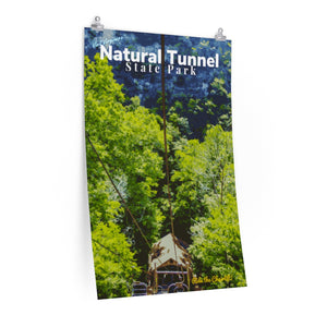 Natural Tunnel State Park Poster