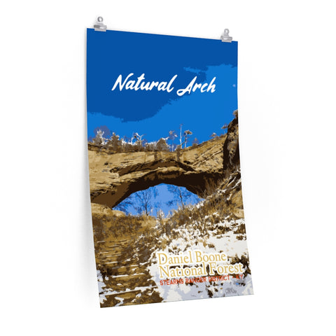 Natural Arch Daniel Boone National Forest Kentucky Poster