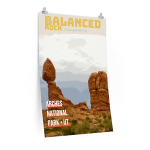 Arches National Park Balanced Rock Poster