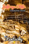 Jeffreys Cliffs Conservation and Recreation Area Tobacco Cave Poster Kentucky