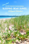 Sleeping Bear Dunes National Lakeshore Bay Michigan Poster