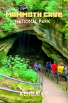 Mammoth Cave National Park Historic Entrance Kentucky Poster
