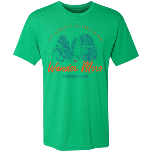 life is short brook and holler green tee