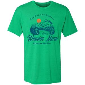 get out and explore brook and holler green shirt