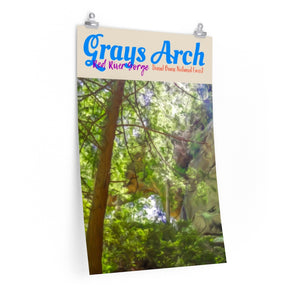 Red River Gorge Grays Arch Kentucky Poster