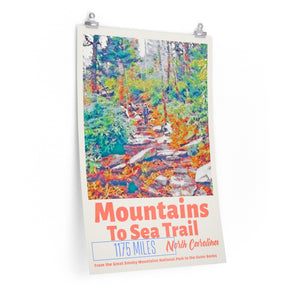 Mountains To Sea Trail Poster