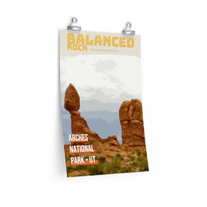 Arches National Park Balanced Rock Utah Poster