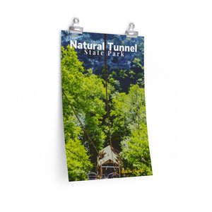 Natural Tunnel State Park Virginia Chairlift Poster